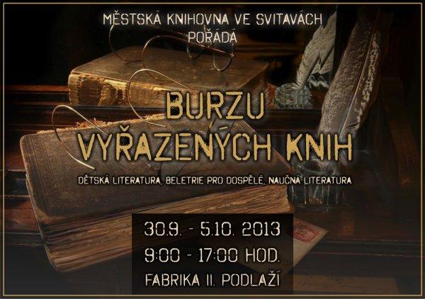 Burza knih 2013