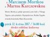 Workshop se spisovatelem Marcinem Mortkou a ilustrátorkou Martou Kurczewskou