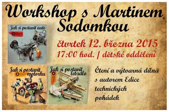 Worskshop s Martinem Sodomkou