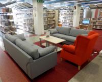 Nová odpočinková zóna v knihovně